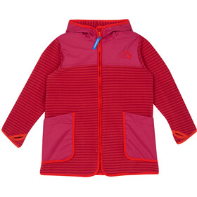 Finkid Kodikas Fleece Jacket Kids cranberry/grenadine